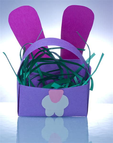 How To Make A Paper Easter Basket - best photos of paper easter egg basket how to