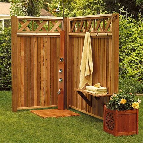 building outdoor showers living hawaiian style achieving pacific island ambience in
