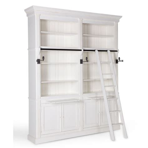 Our Famous Balmore Bookcase In Antique White Living Antique White Bookcase Furniture