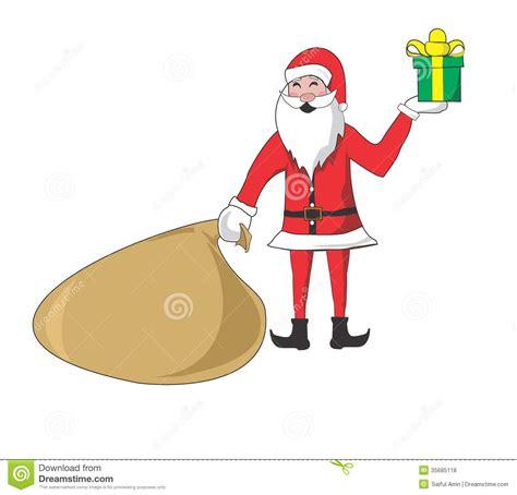 best 28 santa bringing gift royalty free secret santa