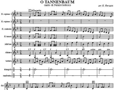 o albero testo o tannenbaum la tradizionale canzone di natale tedesca