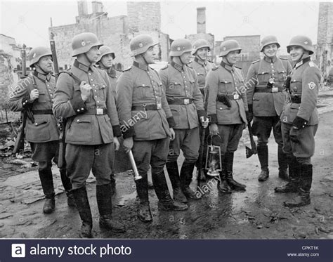 Free German Search German Conducting A Search In Warsaw 1944 Stock Photo Royalty Free Image