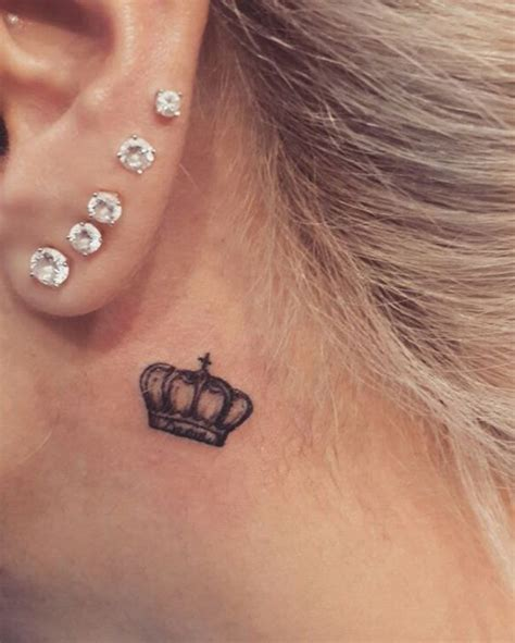 tattoo behind ear military the 25 best behind ear tattoos ideas on pinterest moon
