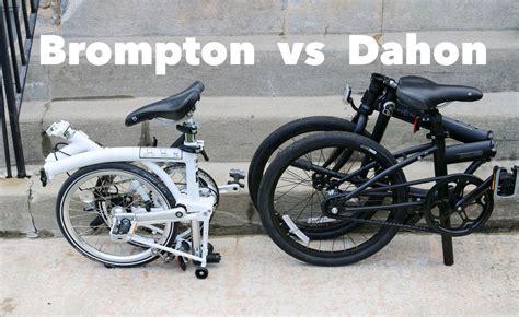 Hoodie Fold In Brompton 2 dahon vs brompton which is the best folding bike
