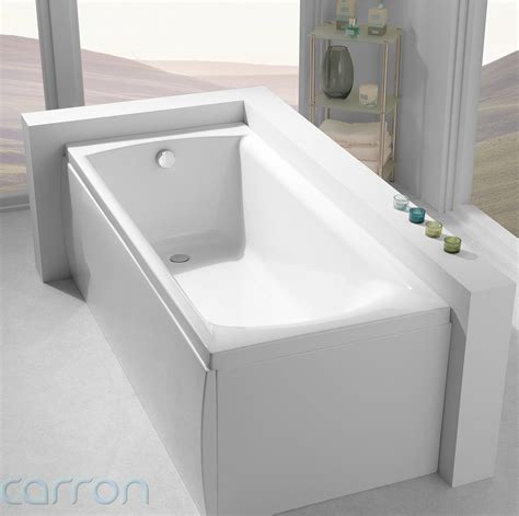 delta bathtubs carron delta acrylic bath 1400 x 700mm cabde145pa q4 02047