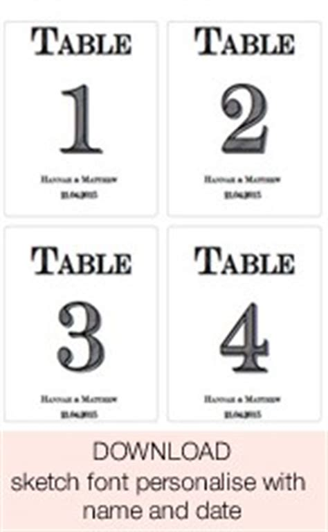 make your own table number cards template free printable wedding table numbers stickers