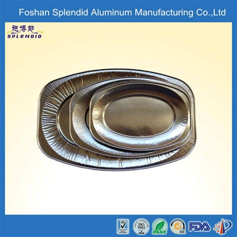 Alumunium Foil Cup Oval disposable oval catering foil containers aluminum foil
