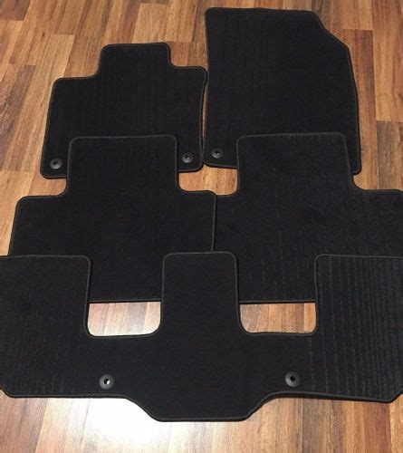 buy genuine oem  newer volvo xc carpet floor mats charcoal  rows  sealed motorcycle
