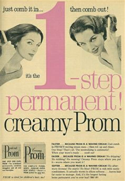 1950s perms 1000 images about vintage hair products on pinterest