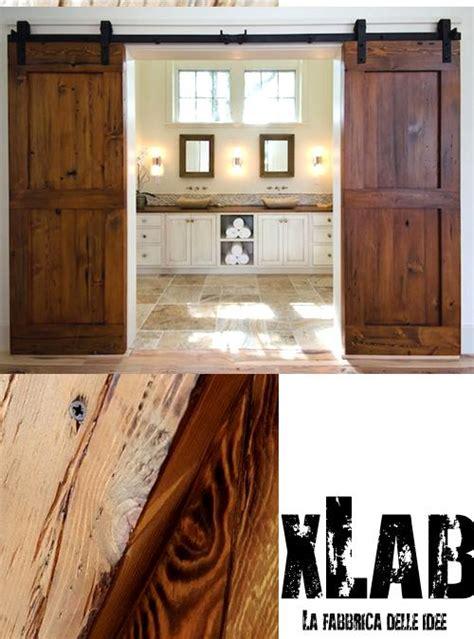 Porte Stile Industriale by Porta Scorrevole Barn Doors In Stile Industriale Xlab