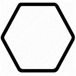 Png Outline Shapes by Hexagon Outline Polygons Rounded Shapes Signs Symbols Icon Icon Search Engine