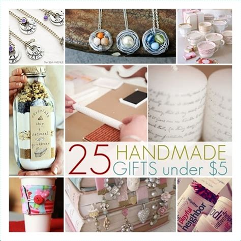Cheap Handmade Gifts - 25 handmade gifts the36thavenue