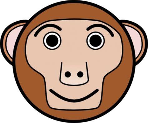 Clip Bulat monyet bulat wajah clip vektor clip vektor gratis gratis