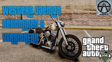 Gta 5 Motorrad Finden by Gta 5 Online Western Daemon Motorrad Location