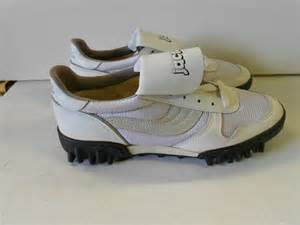 jaclar basketball shoes vtg 80 s jaclar cleat field turf shoes size 9 s
