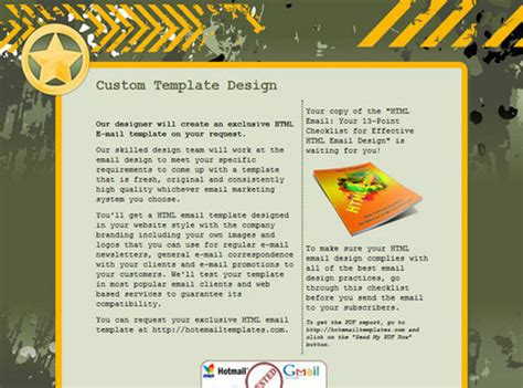 Htmltemplates4 50 Useful And Free Html Newsletter Templates Html Newsletter Templates Free