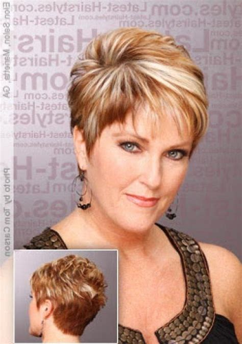 funky hairstyles for over 50 2018 popular funky short haircuts for round faces