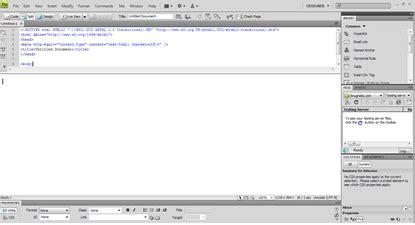 membuat website dengan php dari awal tutorial dreamweaver cs4 alviansite