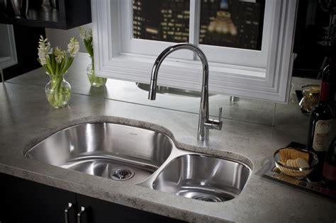 Double Bowl Vanity Tops The Advantages And Disadvantages Of Undermount Kitchen