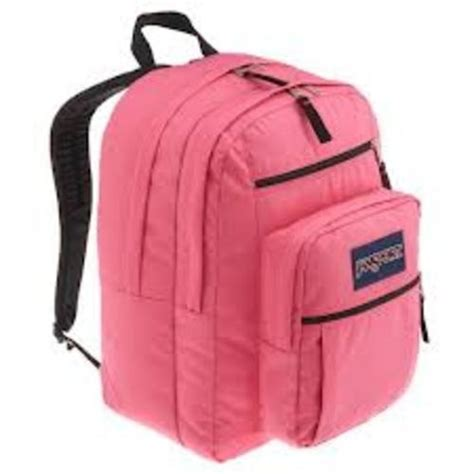 Tas Ed School Orange Black Backpack pink jansport backpack backpacks