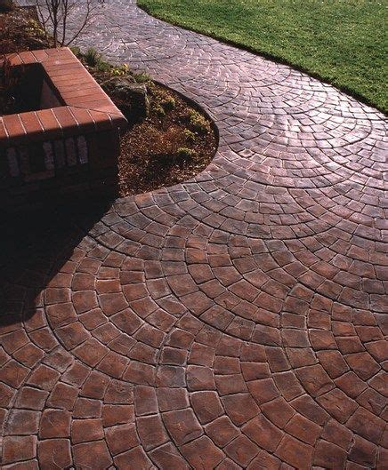 jersey path pattern 25 b 228 sta sted concrete patios id 233 erna p 229 pinterest