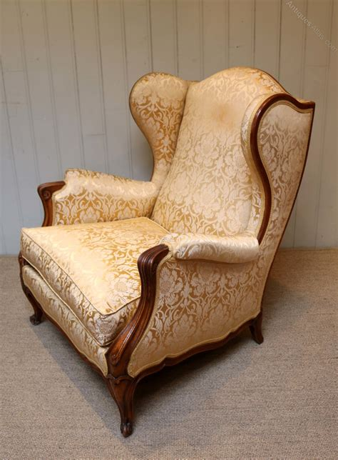 antique french armchair french walnut armchair antiques atlas