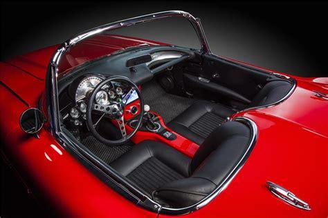 Custom Corvette Interior by 1962 Chevrolet Corvette Custom Convertible 170033