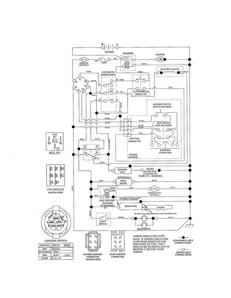 Wiring Diagram For Sears Craftsman Lawn Tractor Best