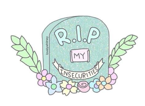 imágenes de tumblr overlays png overlays transparent r i p my insecurities