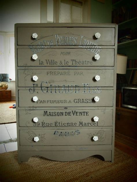 37 best images about chest of drawers painted decoupage