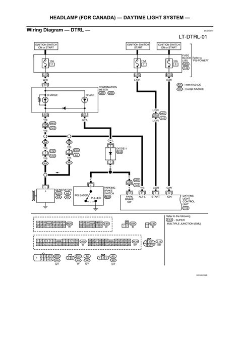 2003 nissan frontier headlight wiring diagram 28 images