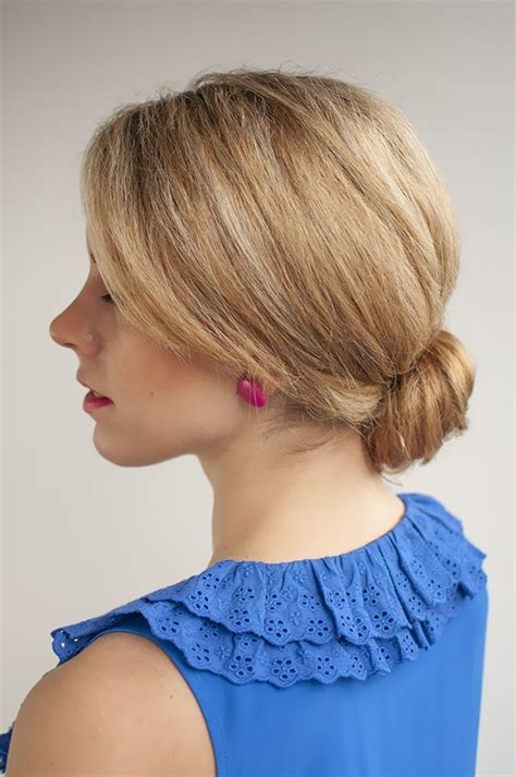 low bun hairstyles at home 45 quick 5 minute hairstyles for working women her canvas
