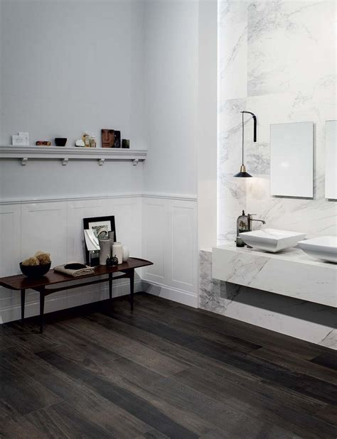 bathroom with dark wood floor best 25 wood floor bathroom ideas on pinterest wood