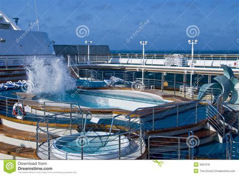 cruise ship pool wave stock photo image of ship cruise