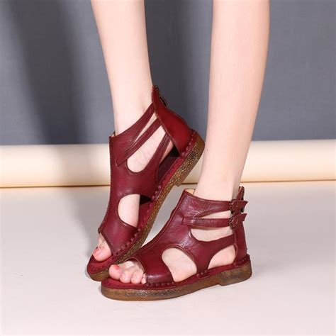 Handmade Summer Shoes For Womenflat - aliexpress buy 2015 summer sandals handmade