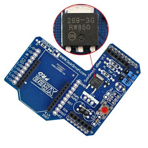 Promo Xbee Shield For Arduino sainsmart xbee shield module for zigbee arduino uno duemilanove mega 1280 2560 3d printing