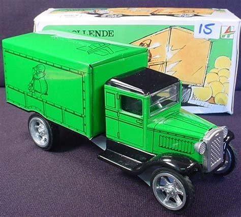 Truck Bak kovap 1924 moving money box truck bank in orig bo