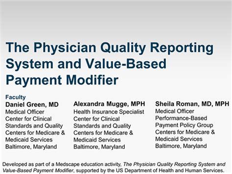 Essays Based Payment Reporting by The Physician Quality Reporting System And Value Based Payment Modifier