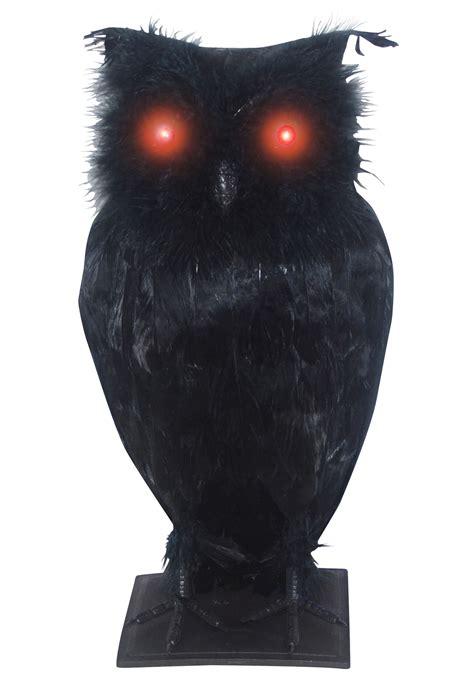 Black Owl Home light up black owl