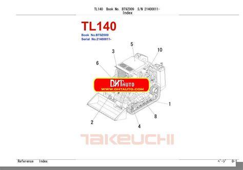 takeuchi tl140 solenoid wiring diagram free