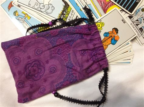 make tarot cards how to make a tarot card bag