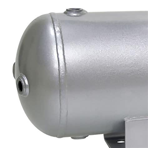 viair 2 0 gallon 150 psi compressor air tank with 6 npt ports 91022 691165105329 ebay