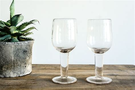 Rustic Wine Glasses Rustic Wine Glass For The Home