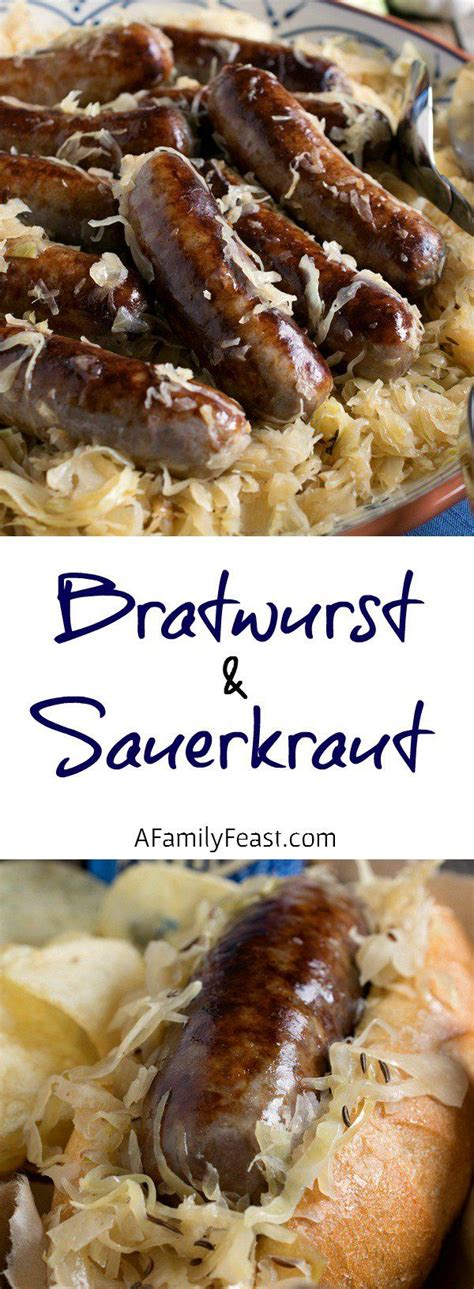 bratwurst ingredients bratwurst and sauerkraut recipe a family feast recipes