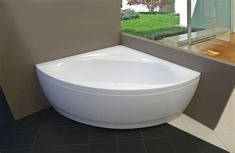 corner soaking bathtubs aquatica olivia wht acrylic corner bathtub