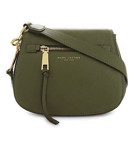 Marc Cat In The Bag Marc Karolina Bag by Marc Recruit Small Grained Leather Saddle Bag