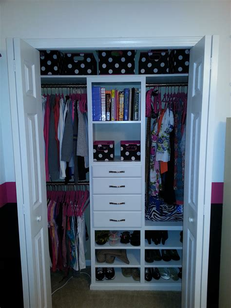 white custom closet diy projects
