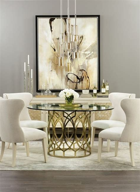 modern glamour home design modern glamour salon dining traditional dining room