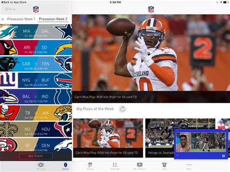 nfl mobile scores best apps for following the 2016 nfl season imore