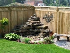 Water Feature Ideas For Small Backyards Backyard Living Space Add Water Features To Your Backyard Garden